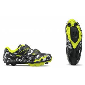 HAMMER JUNIOR NORTHWAVE Kolor: MATT BLACK, CAMO/YELLOW FLUO Rozmiar: 32, 33, 34, 35, 36, 37, 38