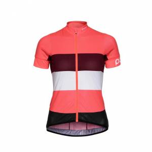 ESSENTIAL ROAD WO LIGHT JERSEY POC Rozmiar: S, M, L, XS Kolor: NAVY MULTI BLACK, FLEROVIUM PINK