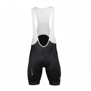 ESSENTIAL ROAD BIB SHORTS POC Kolor: URANIUM BLACK Rozmiar: XS, S, M, L, XL, XXL