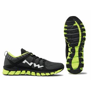 PODIUM 2 NORTHWAVE Rozmiar: 38, 39, 40, 41, 42, 43, 44, 45, 46 Kolor: BLACK/YELLOW FLUO, YELLOW FLUO