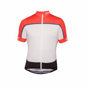 ESSENTIAL ROAD BLOCK JERSEY POC Rozmiar: XS, S, M, L, XL Kolor: PRISMANE MULTI RED, FURFURAL MULTI BLUE
