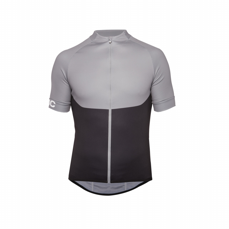 ESSENTIAL XC ZIP TEE POC Rozmiar: XS, S, L, XL, XXL, M Kolor: STEEL GREY, ZINK ORANGE, FURFURAL BLUE, PRISMANE RED, DRACONIS BLUE